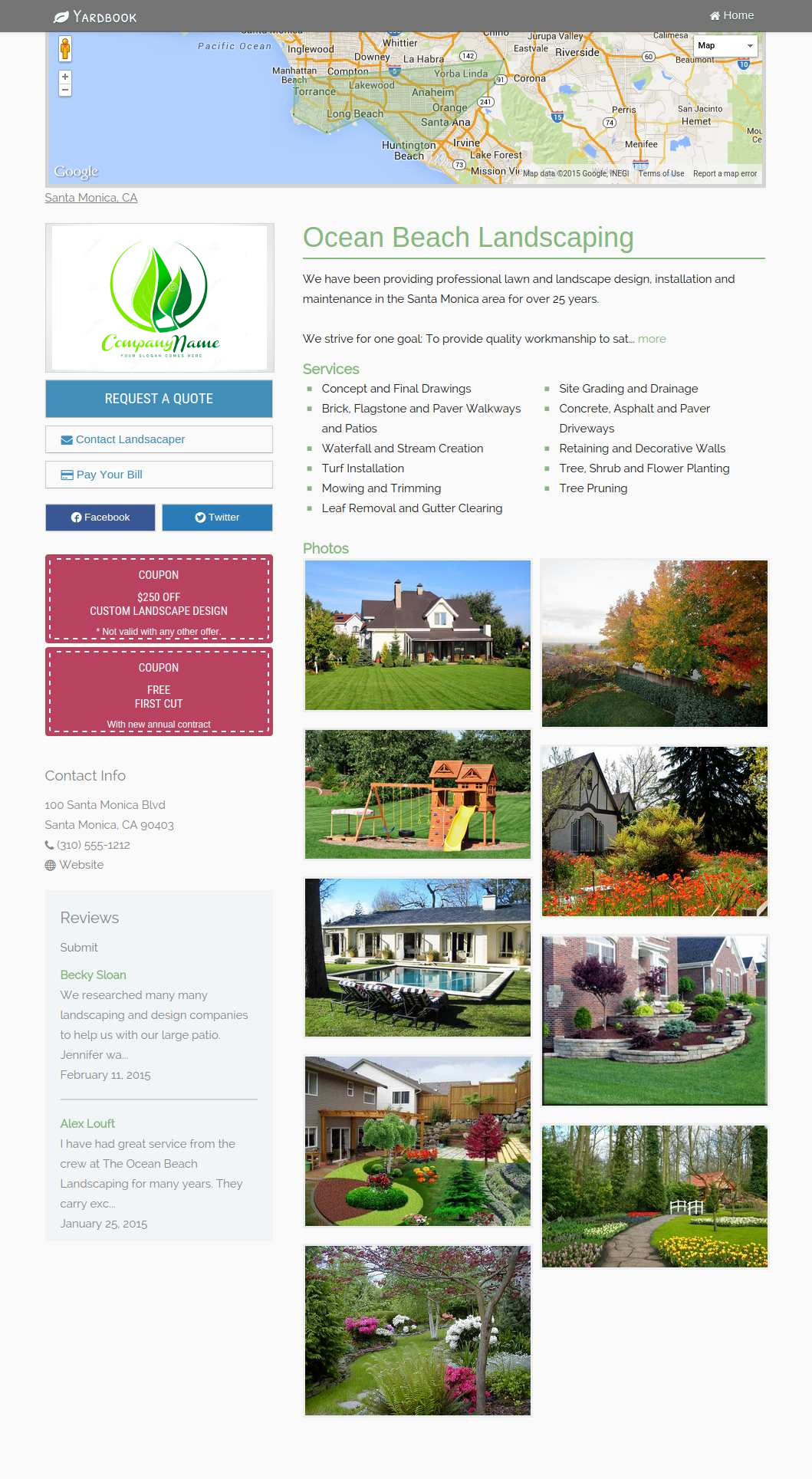 Landscaping Business Software Lawn Care Business Software Yardbook